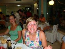 Erin in italy